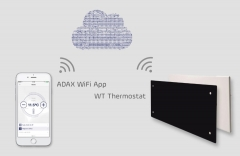 New products: ADAX NEO H/L and CLEA H/L heaters managed thru WiFi network from mobile phone