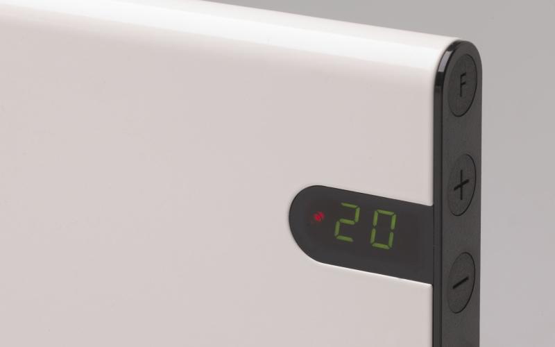Panel heater GLAMOX heating H30 H06 KDT White