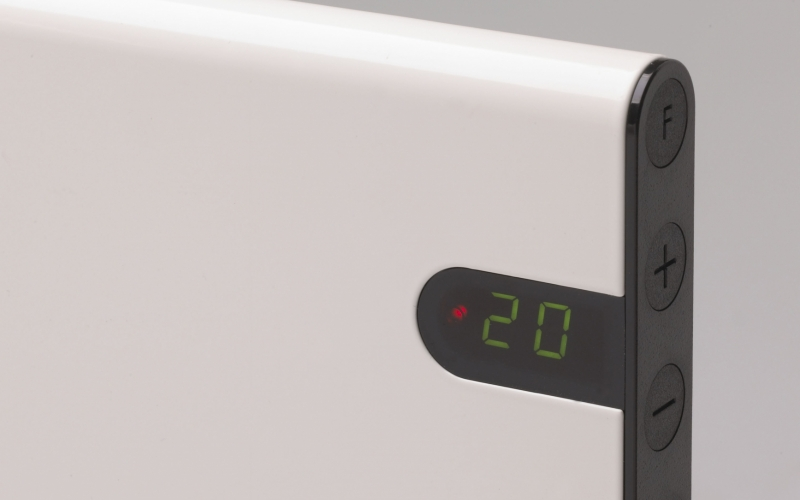 Panel heater GLAMOX heating H30 H20 KDT White