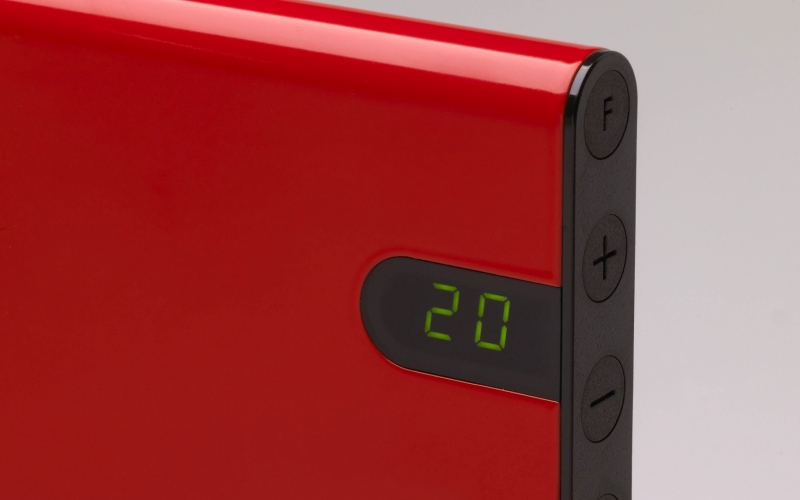 Panel heater GLAMOX heating H30 H12 KDT Red