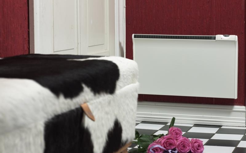 Splash-proof heater GLAMOX heating TPVD 10 EV