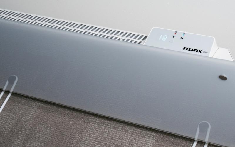 Glass heater ADAX CLEA H10 KWT White