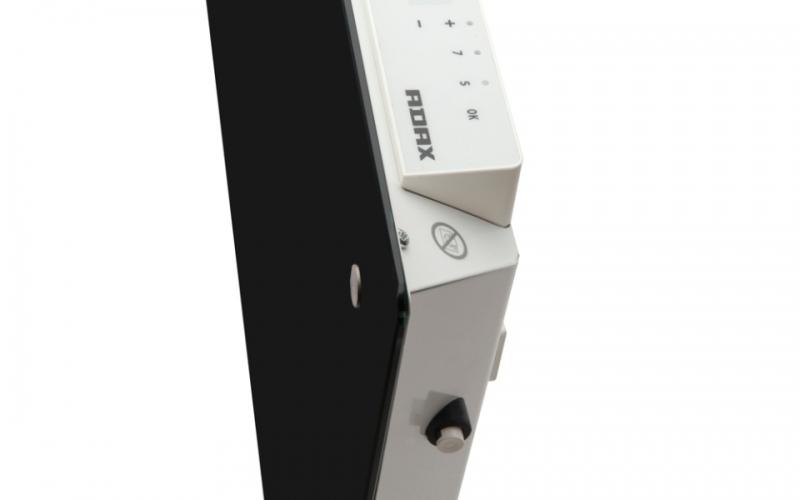 Glass heater ADAX CLEA H10 KWT Black