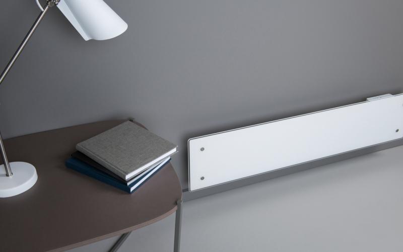 Glass heater ADAX CLEA L06 KWT White